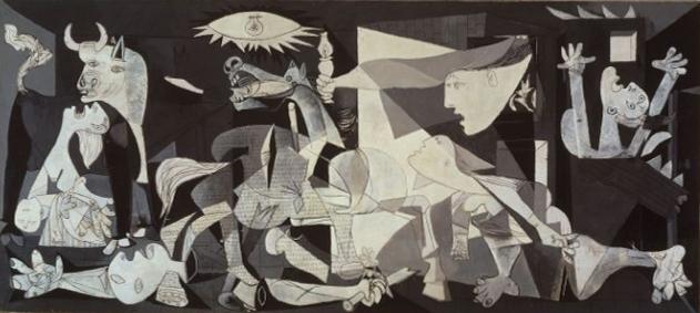 Picasso, 'Guernica' (1937). Museo Reina Sofia, Madrid.