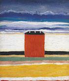 Kazimir Severinovich Malevich (1879-1935), The Red House, 1932
